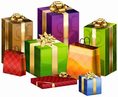 Wrapped Gifts Transparent Clip Gift Clipart Wrapping