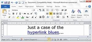 how do you return all hyperlinks in a microsoft word With word documents hyperlinks