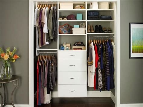 Closet Organization Ideas For Small Spaces by Functional Closet Organization Ideas For Small Space