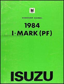 Isuzu Mark Repair Shop Manual Original