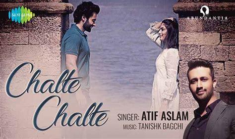 चलते चलते Chalte Chalte Lyrics In Hindi