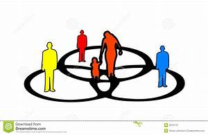 People And A Venn Diagram Stock Illustration  Illustration Of Clipart