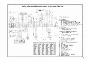 Schema Electrique D U0026 39 Une Derbi Senda