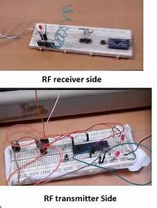 Rf 433mhz Receiver Transmitter Module With Arduino And