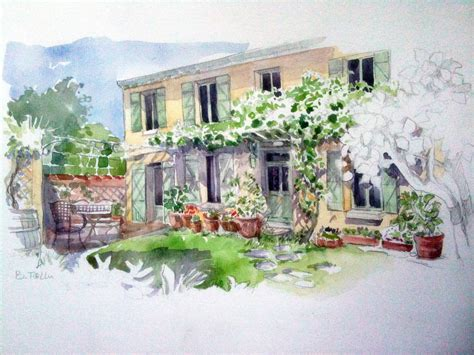 la maison des bistrots la maison des bistrots 28 images from soph to you portrait de maison 224 l aquarelle par b