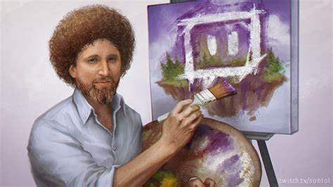 Twitch Is Streaming Bob Ross's The Joy Of Painting For 8 ½