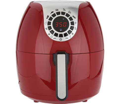 qvc fryer air essentials cooks qt digital cook