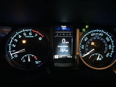 check engine light on and off 2015 tacoma check engine light on and trac off light html