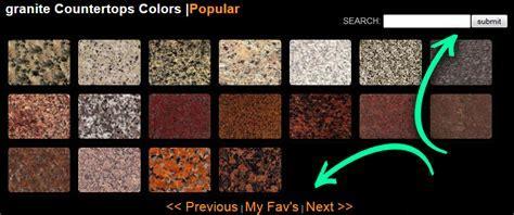 Stone Countertops Color Search