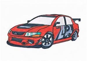 Dessin Fast And Furious : lancer evo 9 fast and furious 3 bryan le dessinateur de la 5a ~ Maxctalentgroup.com Avis de Voitures