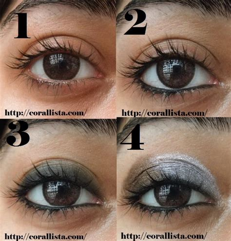 smokey eye makeup  brown eyes tutorial www