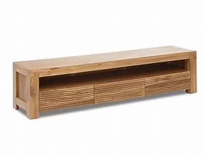 Holz Tv Möbel : tv m bel holz massiv loft ii g nstig kauf ~ Markanthonyermac.com Haus und Dekorationen