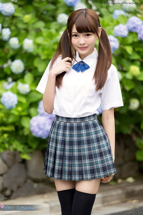 Queen Japanese Schoolgirl In Pigtails Shows As Was Born A