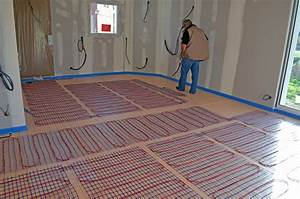 Chauffage Au Sol Prix : chauffage lectrique au sol de notre maison les ~ Premium-room.com Idées de Décoration