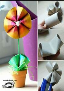 flower made from recycled materials - Musely