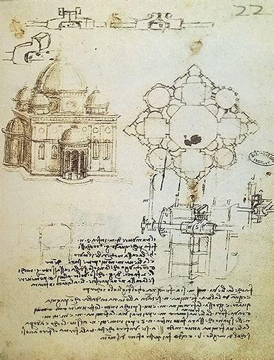 Leonardo Da Vinci Architecture Work
