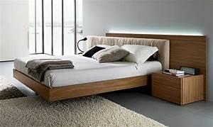 Bett Design Holz : schwebendes bett moderne vorschl ge ~ Frokenaadalensverden.com Haus und Dekorationen