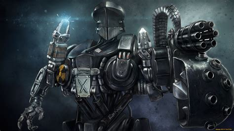 awesome hd robot wallpapers backgrounds