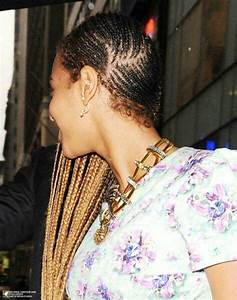 Beyonce braids...I have been dying to see the left side of ...