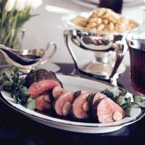 Makes about 3/4 cup sauce. Beef Tenderloin with Red-Wine and Marrow Sauce recipe ...