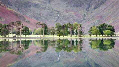 Buttermere in the Lake District, North West England ...