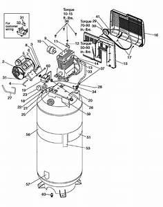 Sears Craftsman 919 184191 Air Compressor Parts