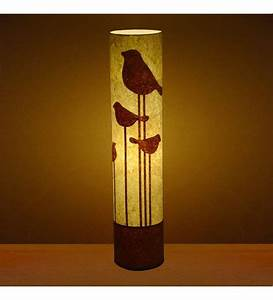 Craftter abstract bird white floor lamp 355 inches by for White floor lamp with birds