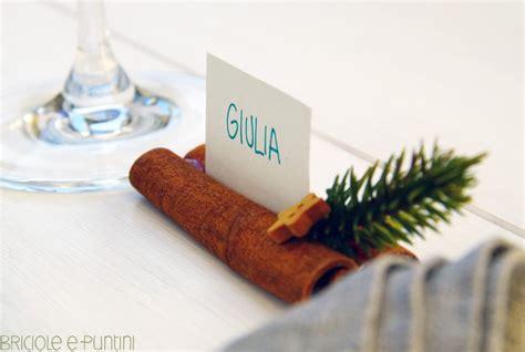 segnaposti tavola segnaposto per la tavola di natale stecche di cannella e