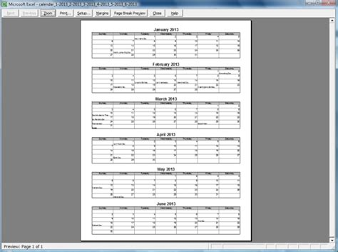 search results  printable months   names