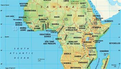Africa Map African Covid Five Risks Businesses