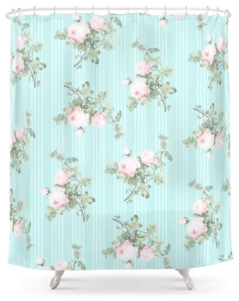 shabby chic curtains used shabby chic shower curtains
