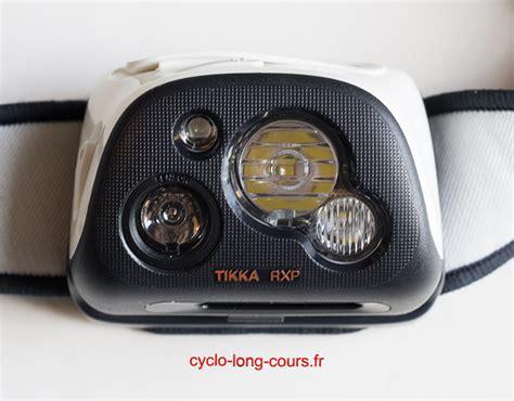 le frontale petzl tikka rxp 187 cyclo cours