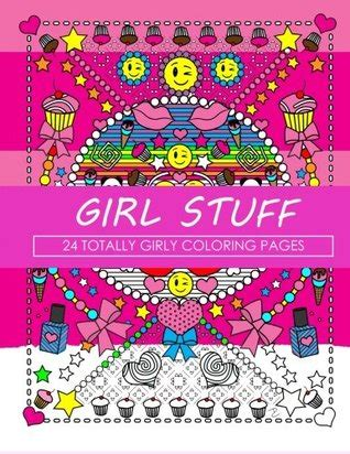 girl stuff  totally girly coloring pages  dani kates