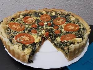 Spinat Und Feta : spinat tomaten feta kuchen rezept mit bild von patty ~ Lizthompson.info Haus und Dekorationen