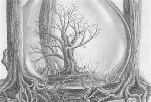Bilder Bäume Gemalt : zeichnen lernen baum laubbaum bl tter stamm blattwerk tutorial zeichnung in 2019 b ume ~ Orissabook.com Haus und Dekorationen