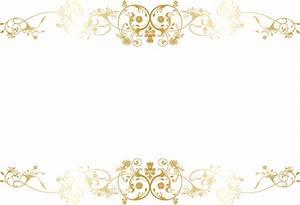 1 sheet EMBOSSED SWIRLS LUXURY VELLUM GOLD ON TRANSPARENT
