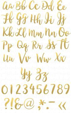 gold font clipart   cliparts  images  clipground