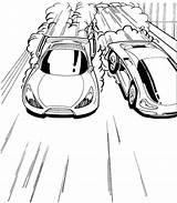 Race Track Coloring Wheels Drawing Getdrawings sketch template