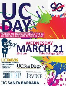 uc day flyer welcome to yuba college