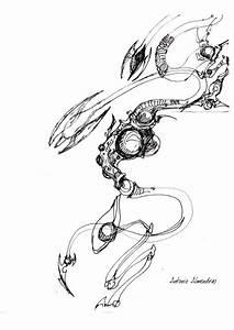 dragon robot sketch 03 by antonioalmendras86 on DeviantArt