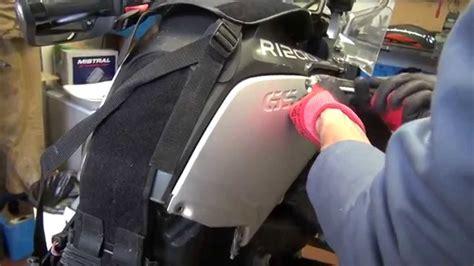 manutenzione filtro aria bmw rgs adv youtube