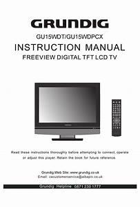 Grundig Gu15wdt Instruction Manual Pdf Download