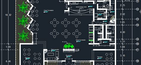 cuisine autocad restaurant 2d dwg design plan for autocad designs cad