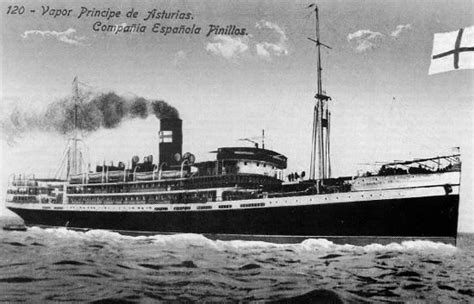 Barco A Vapor Historia by Vapor Pr 237 Ncipe De Asturias Wikipedia A Enciclopedia Libre