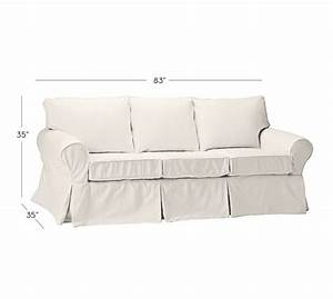 Sale pb basic slipcovered sleeper sofa pottery barn for Pottery barn sectional sofa sale