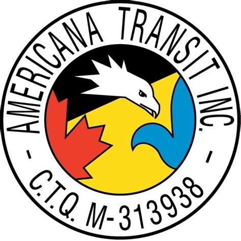 Transit Template Eps by Americana Transit Logo Free Vector In Adobe Illustrator Ai