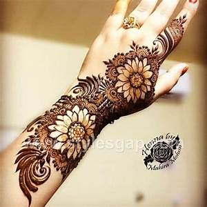 Latest Arabic Mehndi Designs Henna Trends 2018-2019 Collection