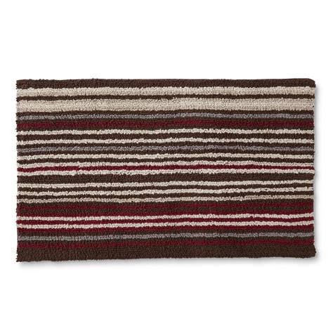 Kmart Cannon Bath Rugs by Cannon Tufted Bath Rug Striped Home Bed Bath