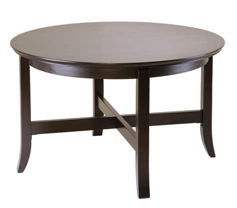 30 Inch Round Coffee Table Collection  Roy Home Design