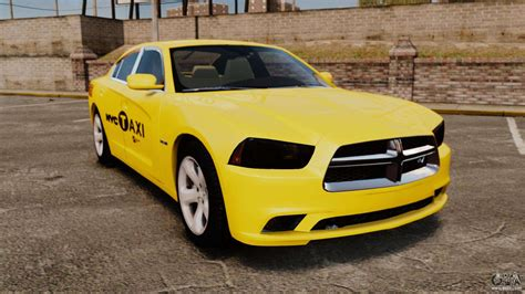 Dodge Car : Dodge Charger 2011 Taxi For Gta 4